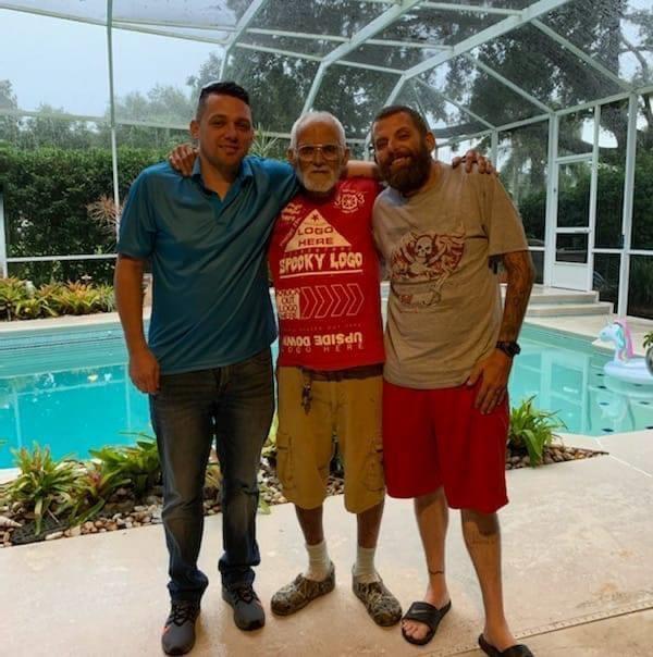Larry Jr., Big Larry, & Richard
