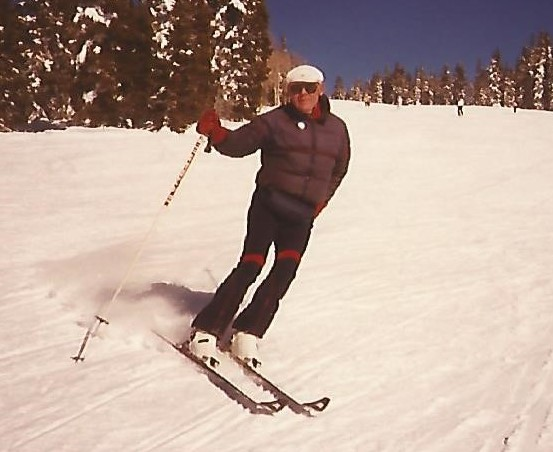 Skiing at Steamboat, CO.