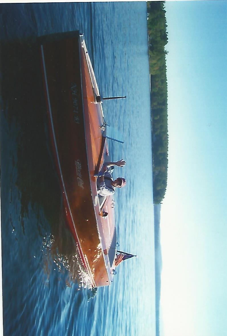 On lake Winnipesaukee