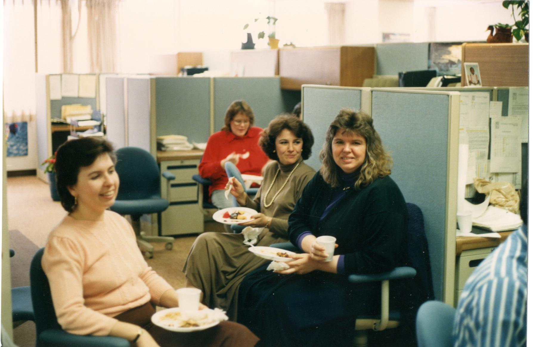 Vintage ATPCO - Ann Lowden, red shirt? Mary Ann Smith?, Sue Lyles