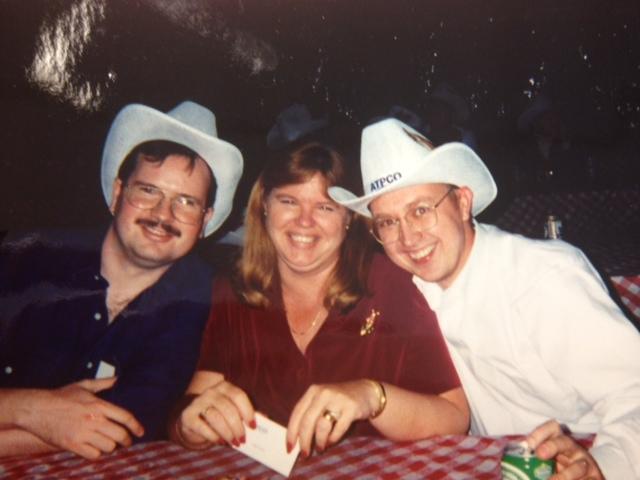 Cowboy hats, long time back - Name?, Sue Lyles, Jimmy Jinks