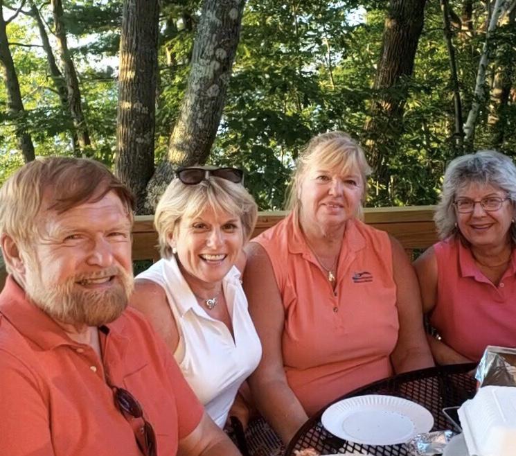 Don, Deb, Sue and Jane at China Lake