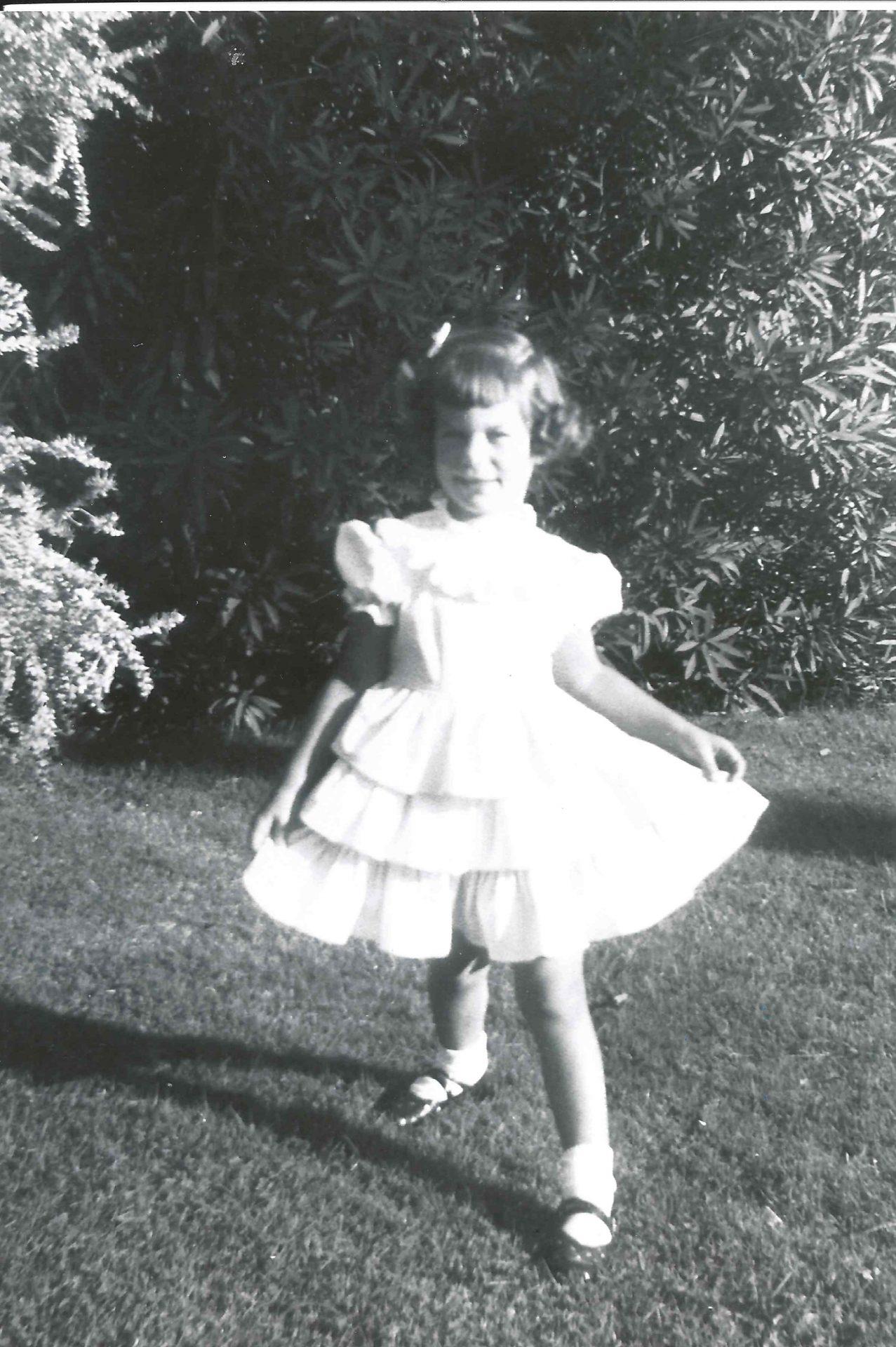 Barbara as a child