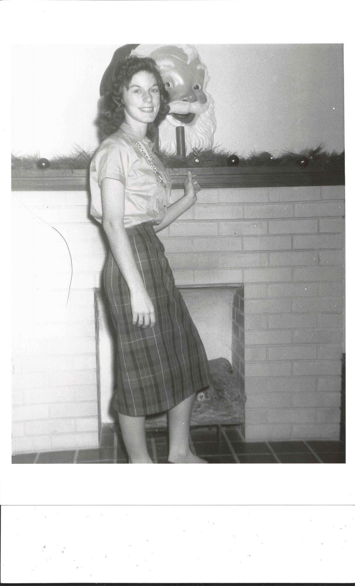 Barbara as a teen