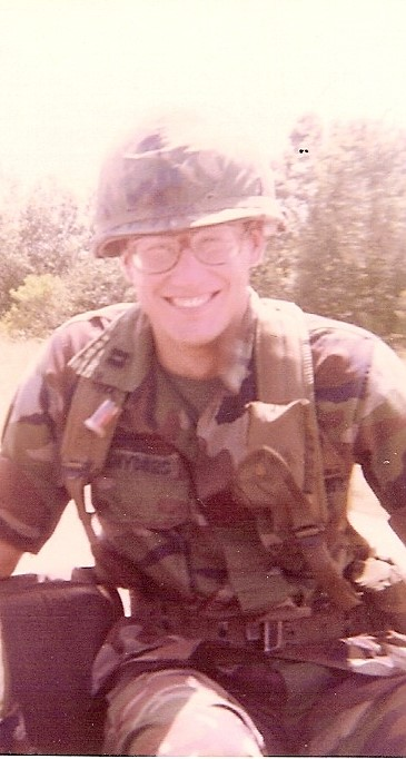 Captain Paul Snyders as a new Army JAG officer at Fort Hood, Texas in the 1980s.  He was an outstanding lawyer and a great personal friend.  RIP Paul.