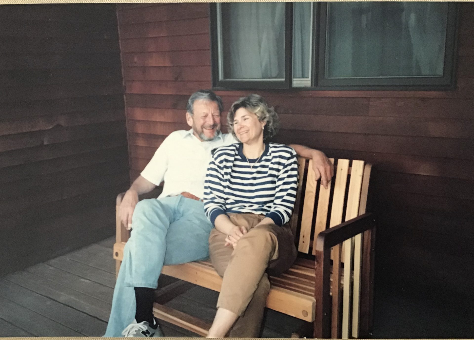 Joe and Gail, Stonington, CT, 1991.