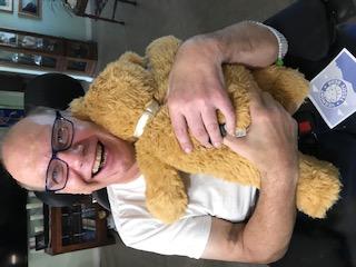 A bear hug from Concetta and Matt.
