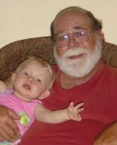 My Dad with his Granddaughter, Macy about 15 years ago.