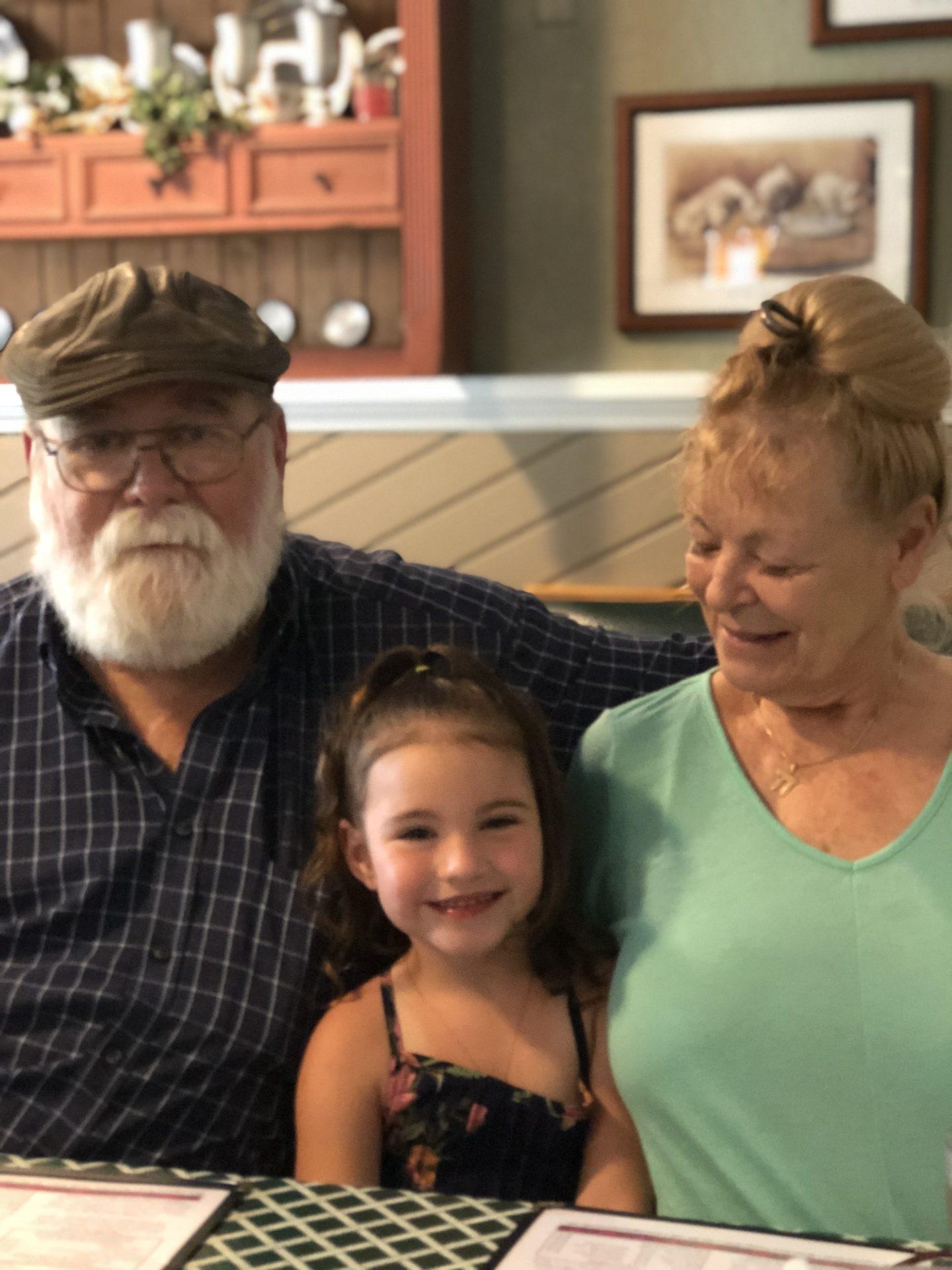 Steve's wife and Granddaughter Ava