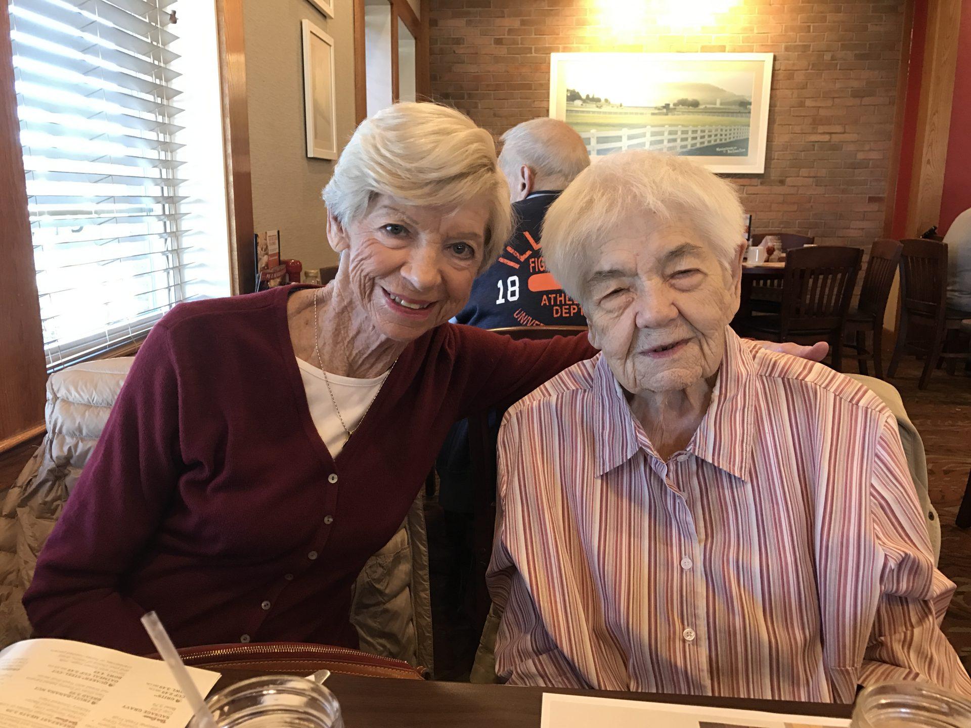 Regina & Grandma