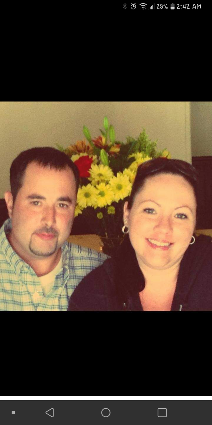 Paul with our older sister Mandy Christmas. 2015