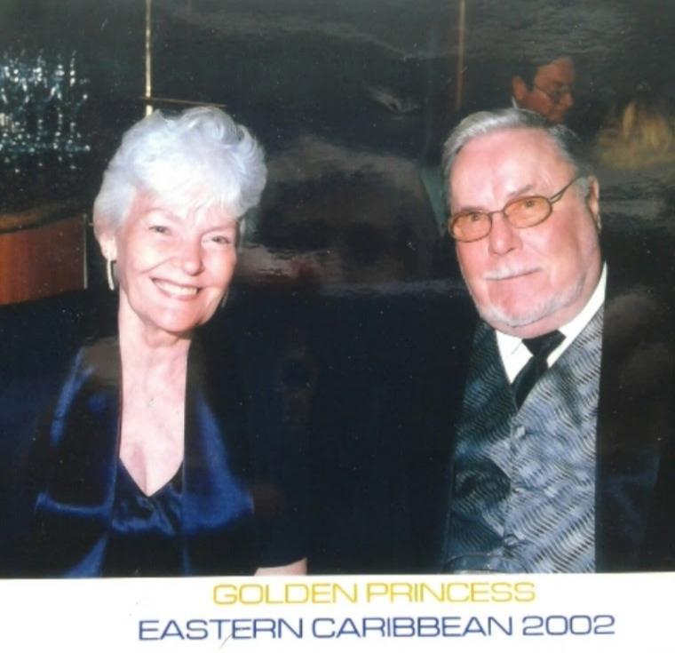 Eloise and Floyd Keith (cruise, 2002)