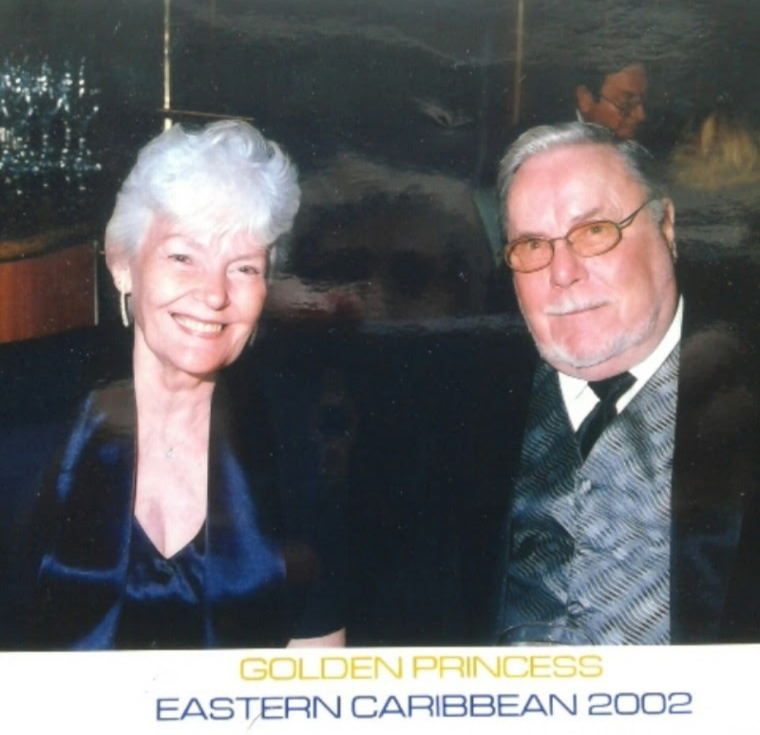 Eloise and Floyd Keith (cruise, 2002)