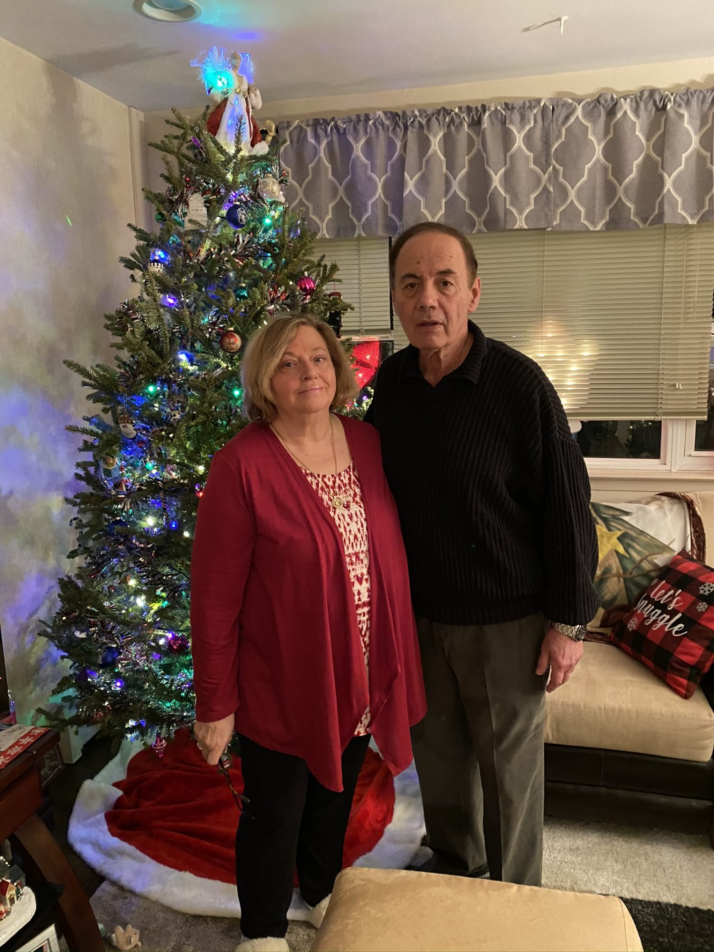 Christmas sister Donna&Bill we will add your picture to our tree