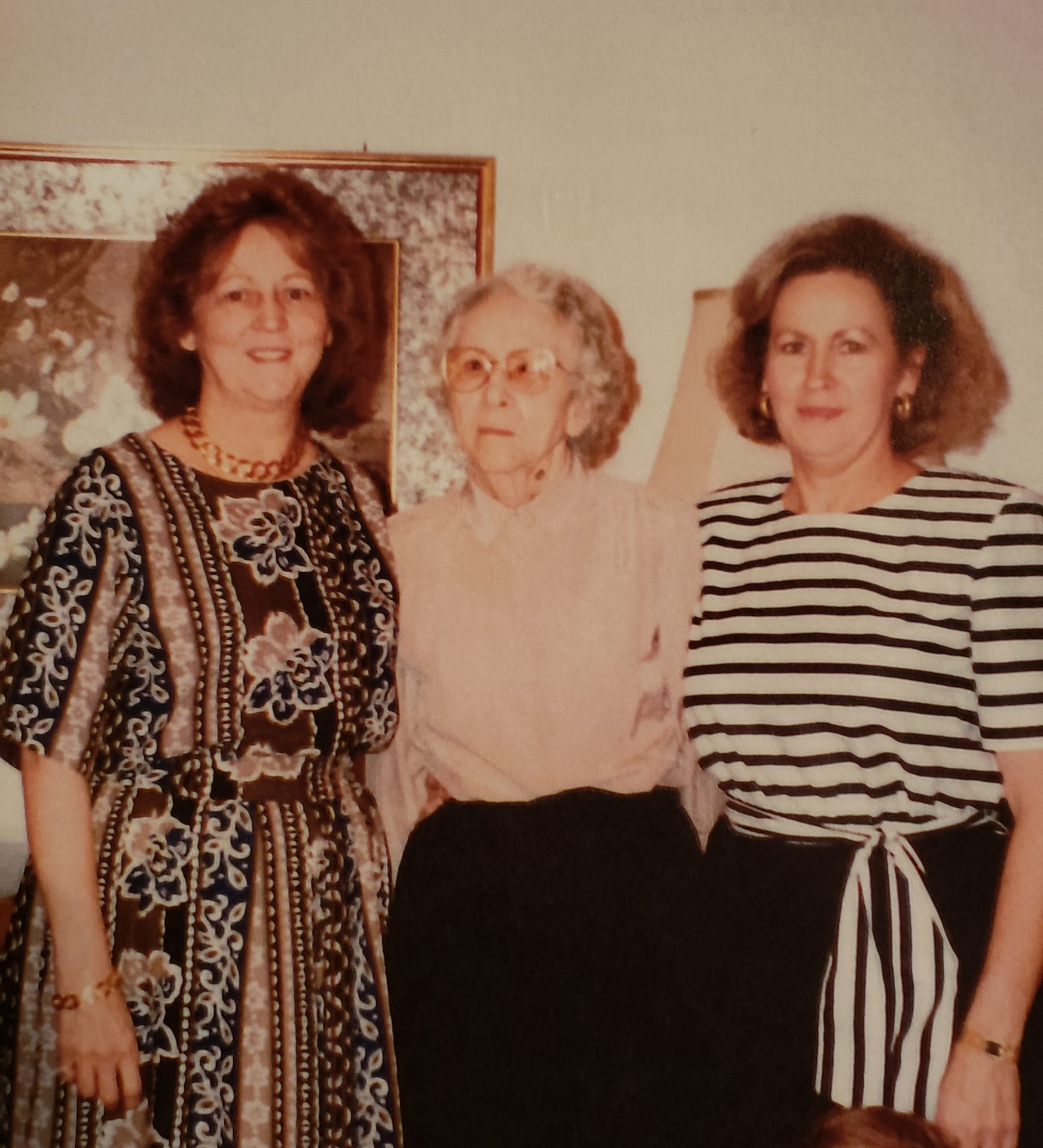 Ruth, Vivian and their mother