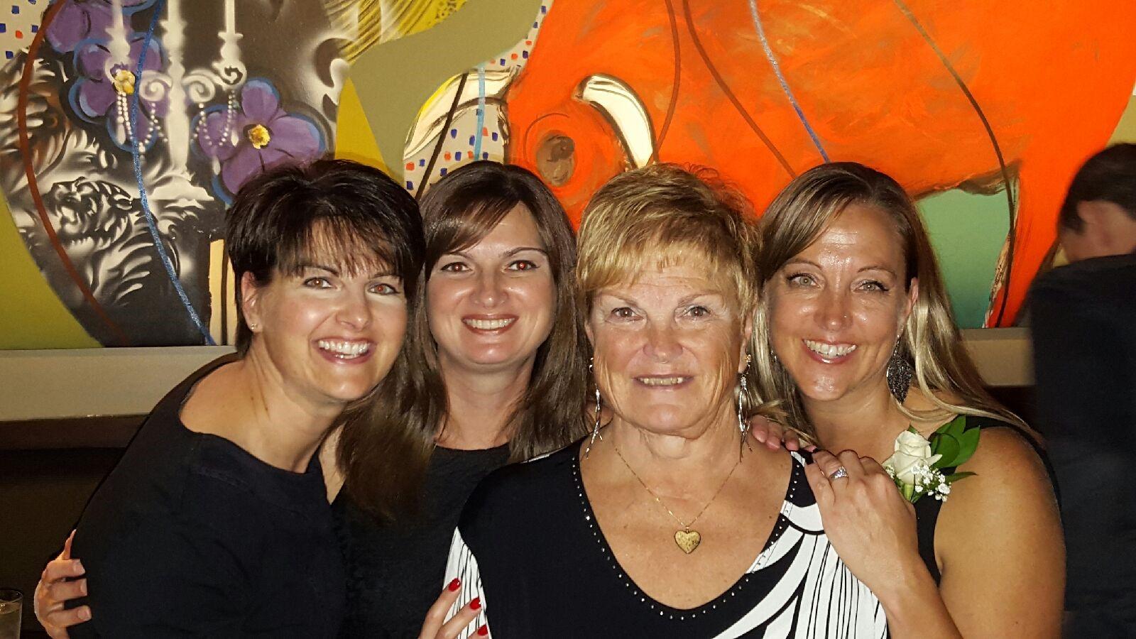 Mom, Jodi, Dana & Karen