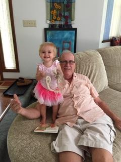Baby Lilly with Papa T