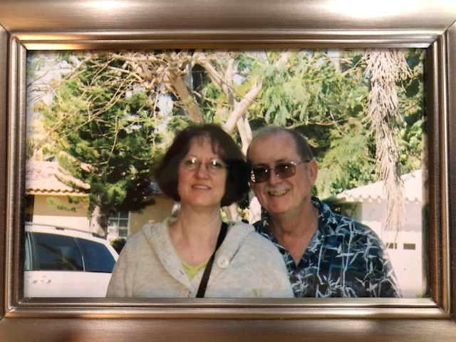 Jay and his loving wife of 44 years