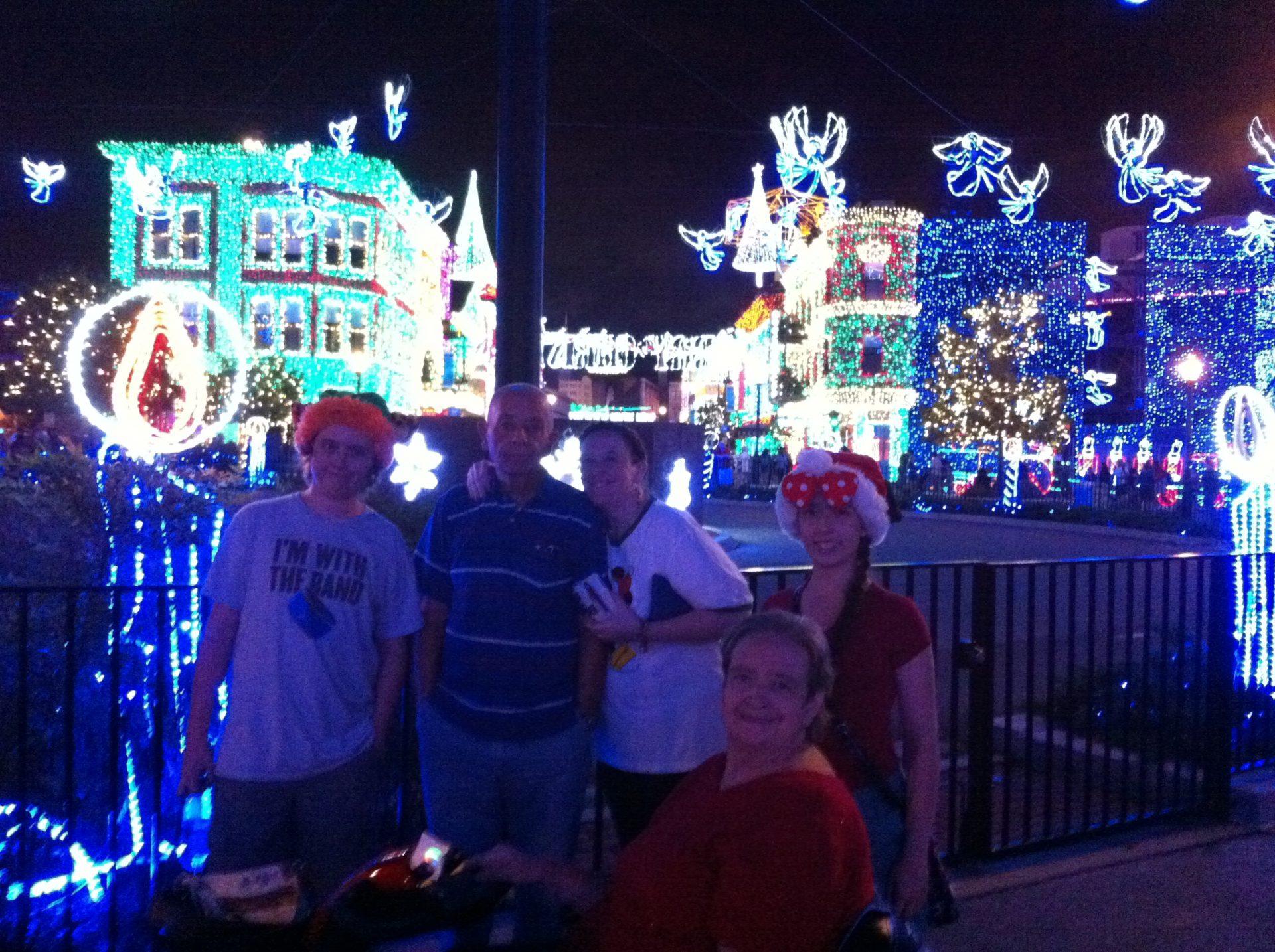 Osbourne Christmas Lights at Disney MGM Hollywood Studios