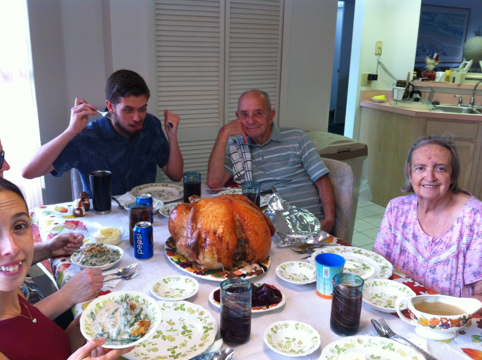 My favorite holiday - Thanksgiving at Grammy's