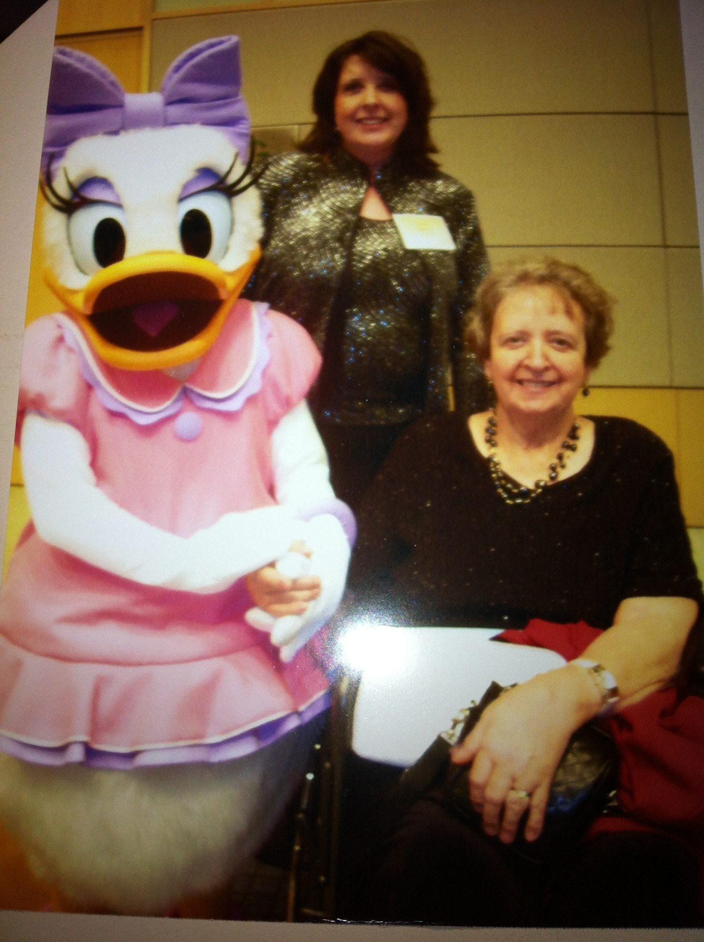 Celebrating Linda's 20 years at WDW