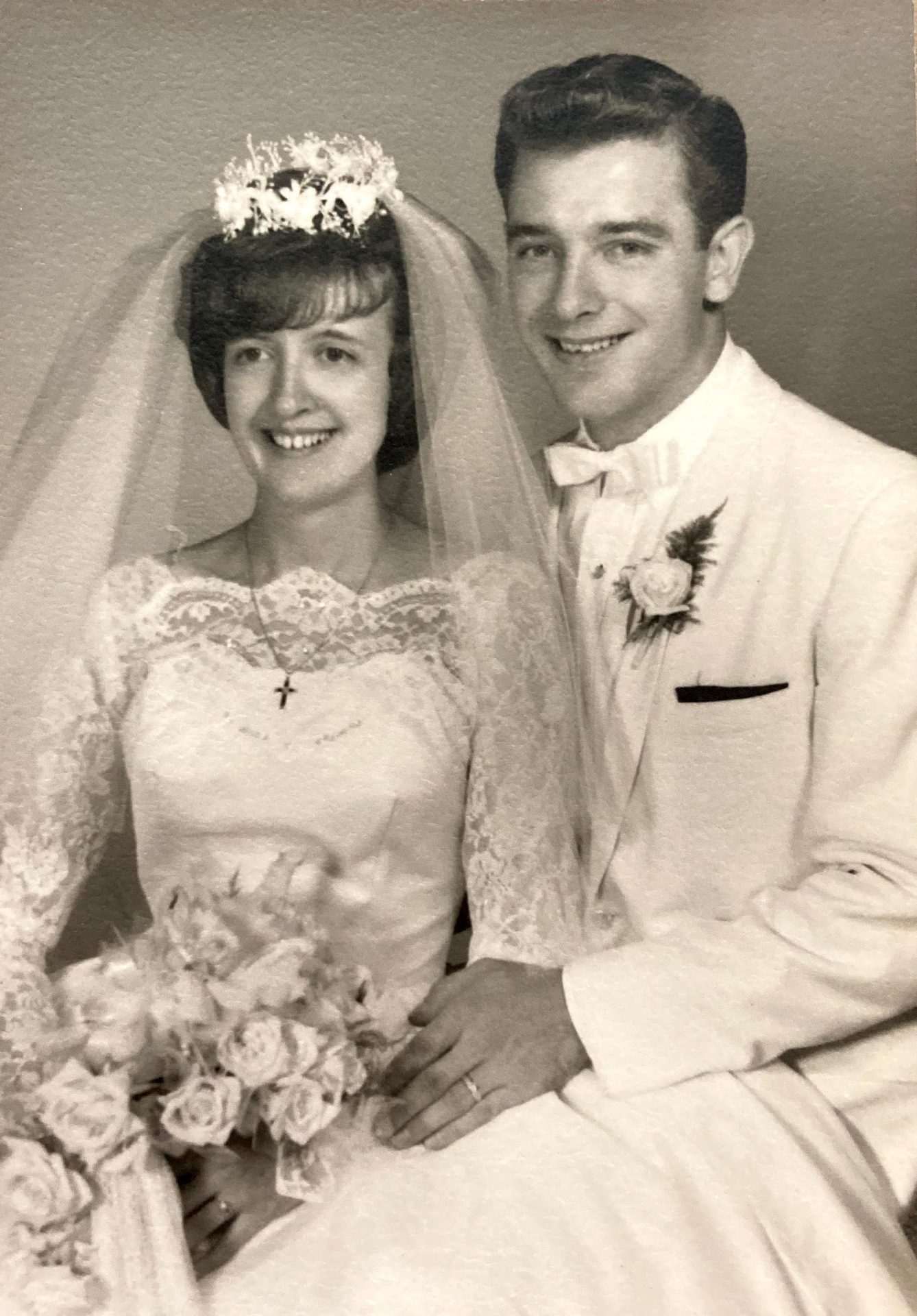 Charlotte and Dennis Leach - Married April 16, 1966.