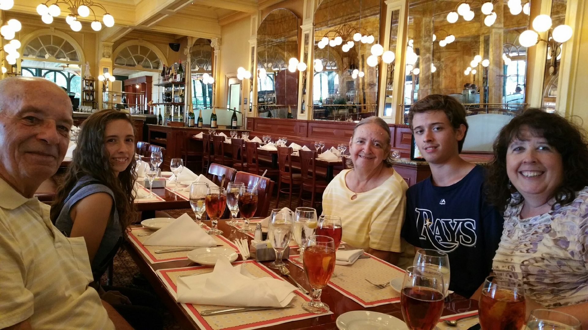 Dinner at Chefs de France in Epcot
