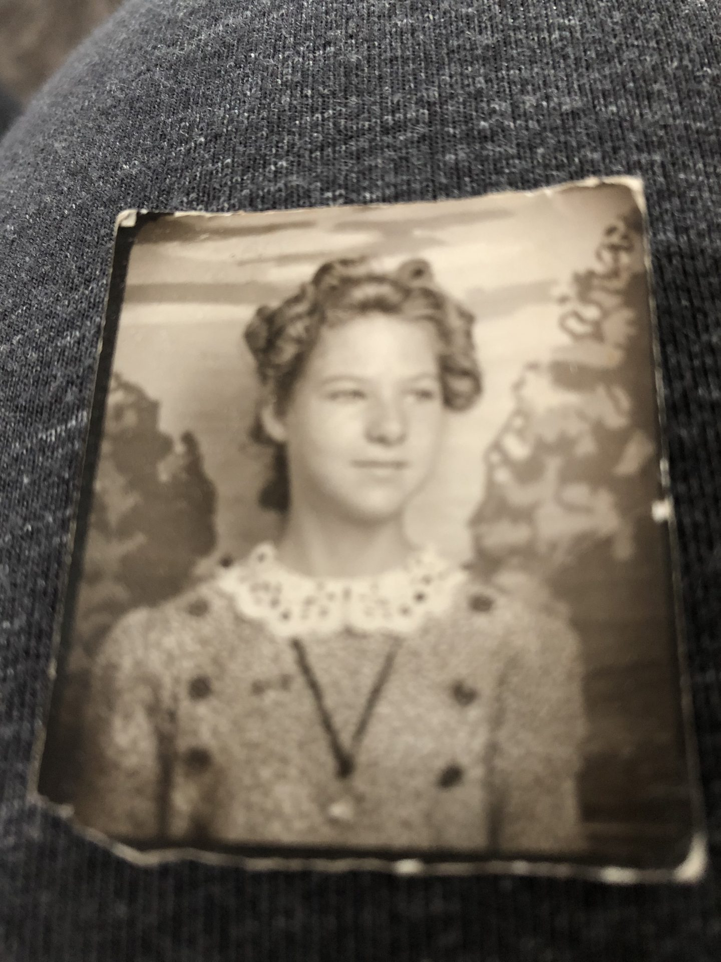 Mom in her Teens, her family called her LiL Queens, because she resembled a Queen in her French Lineage.