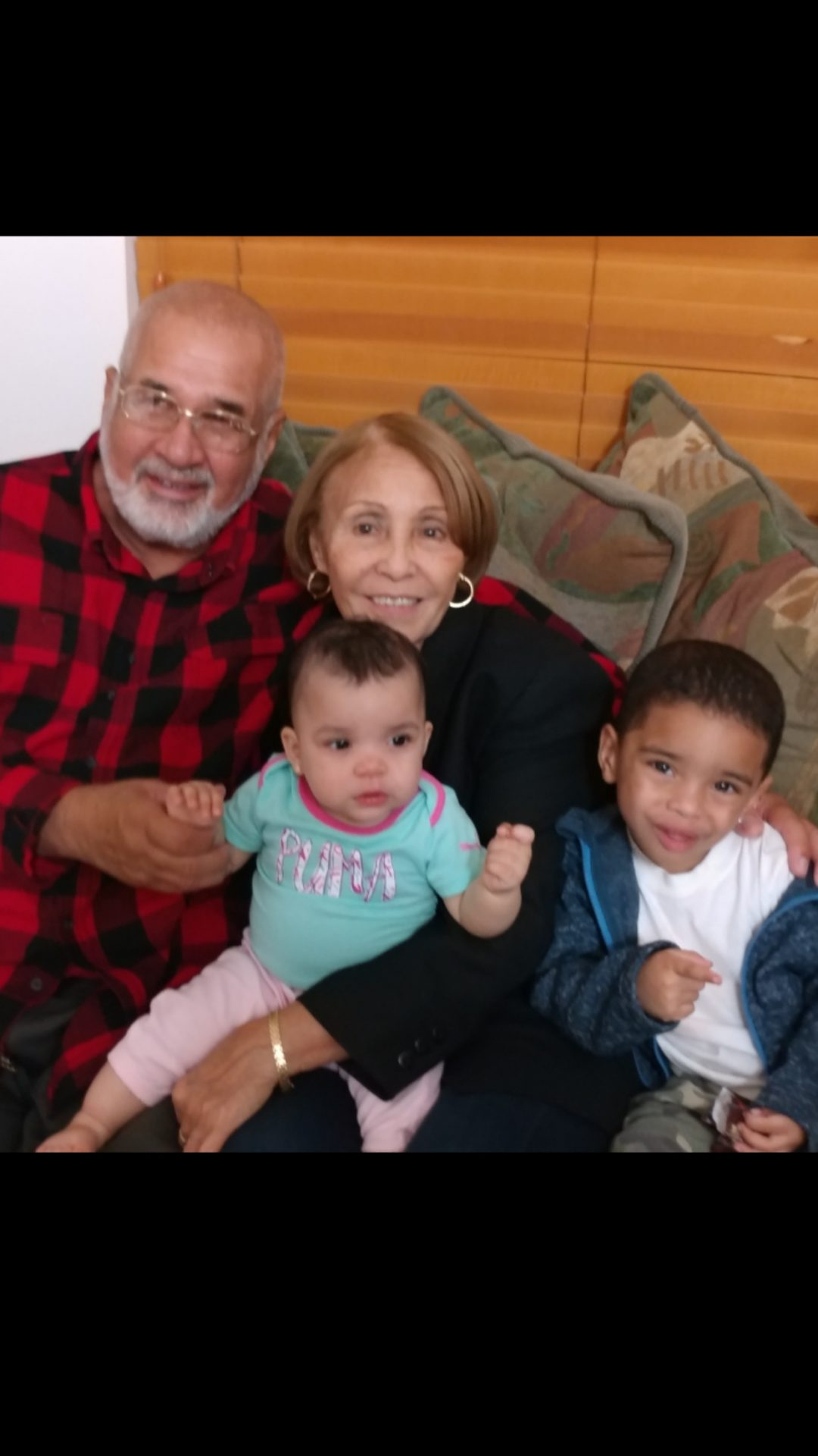 Love you Grandma <br /> Your great grandchildren will never forget you