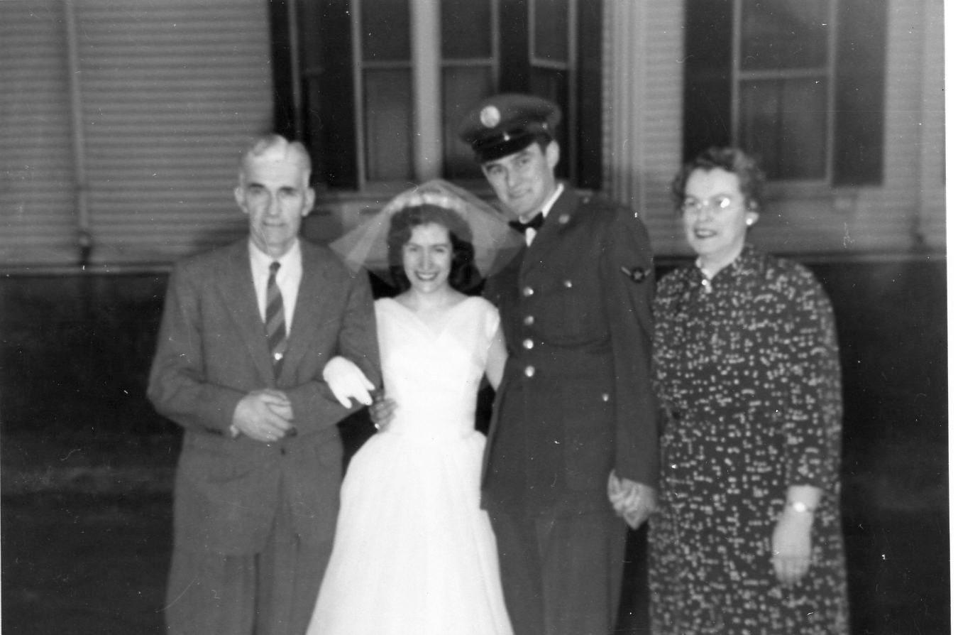 1957 Robert & Jacqueline's Wedding