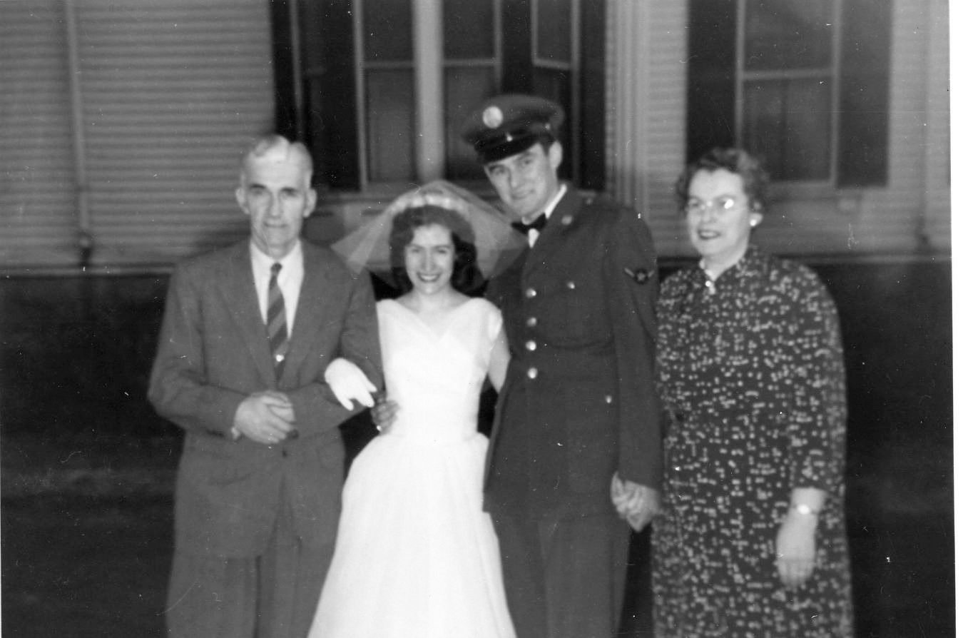 1957 Robert & Jacqueline's Wedding