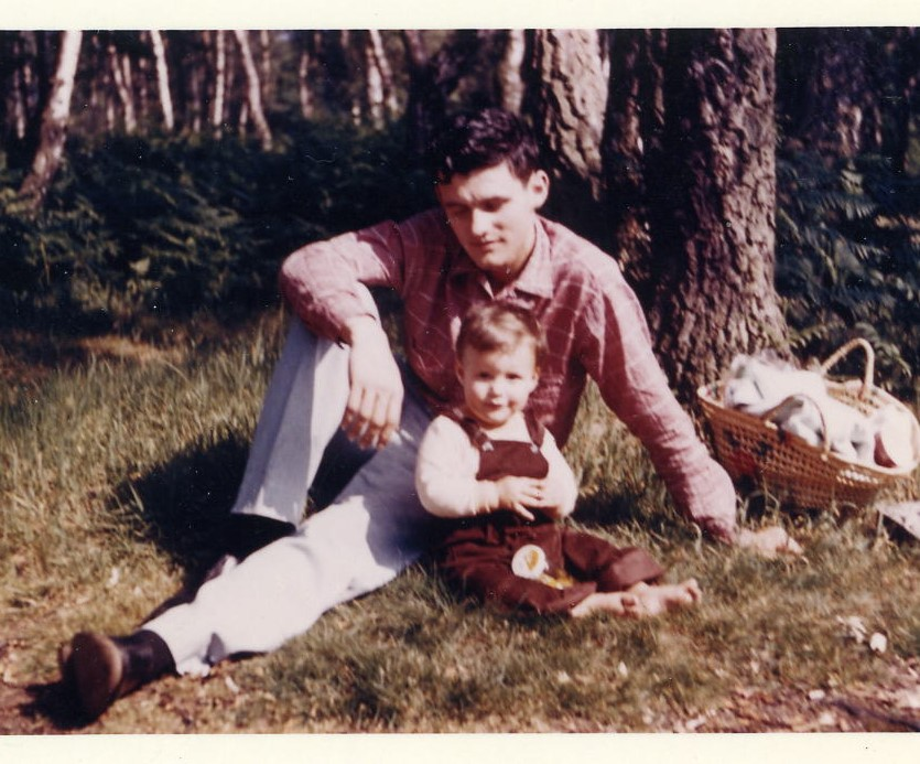 1960 Robert & son, Robert Jr.