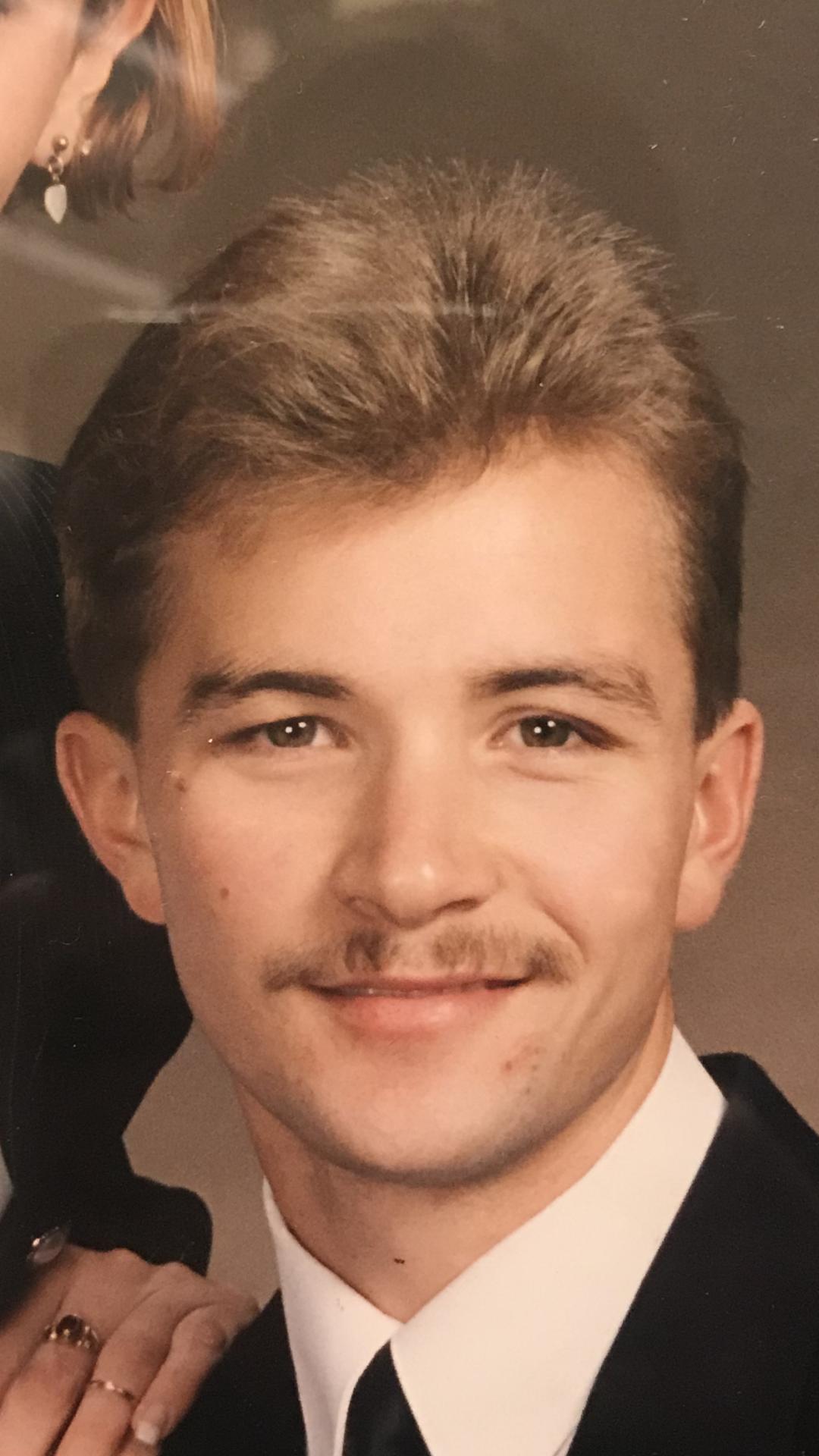 Randy in his early twenties.