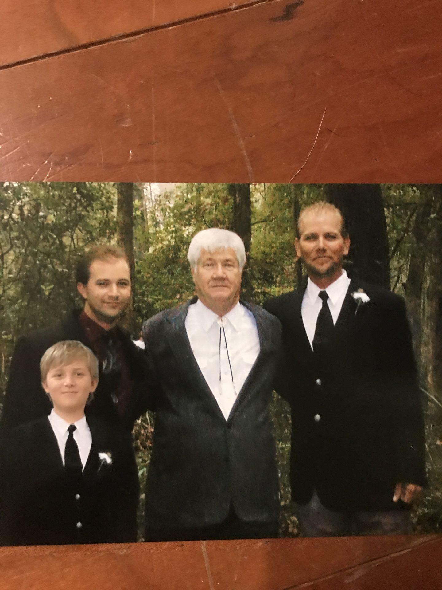 Randy, Fred, David and Jacob 2004