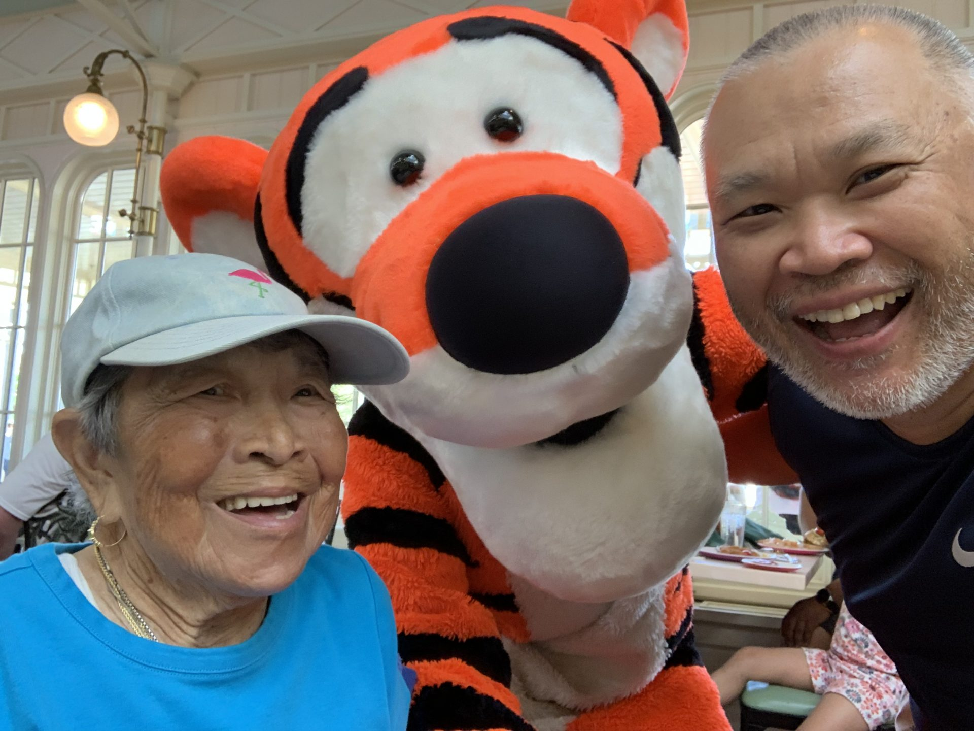 Lunch with Tigger at the Crystal Palace, Magic Kingdom June 21, 2019