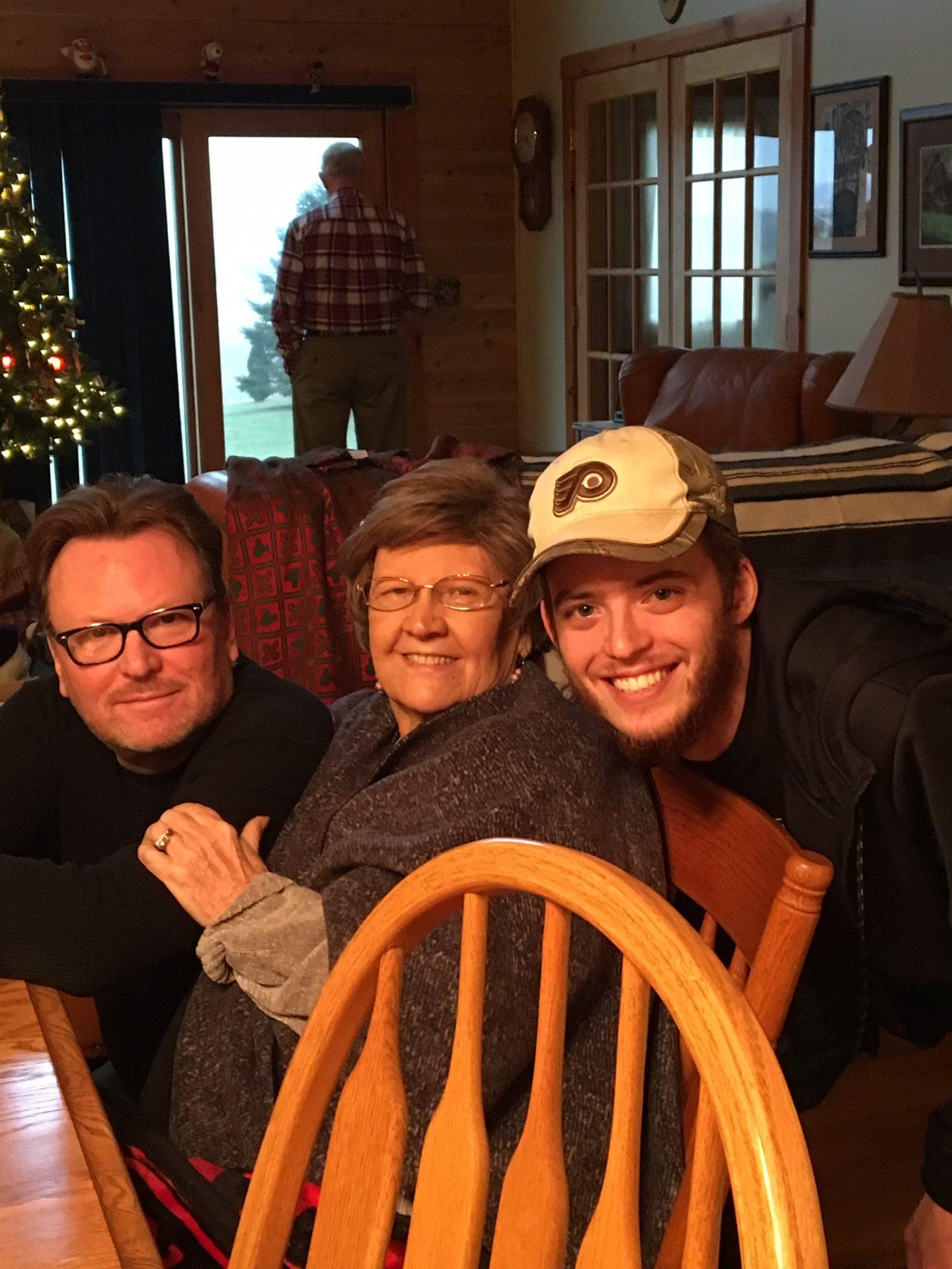 Mom, Scott and Kyle