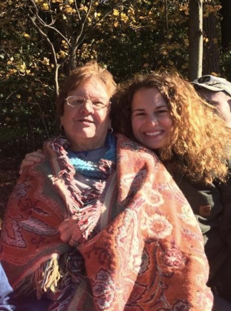 Mom mom Jo and her granddaughter, Ashley