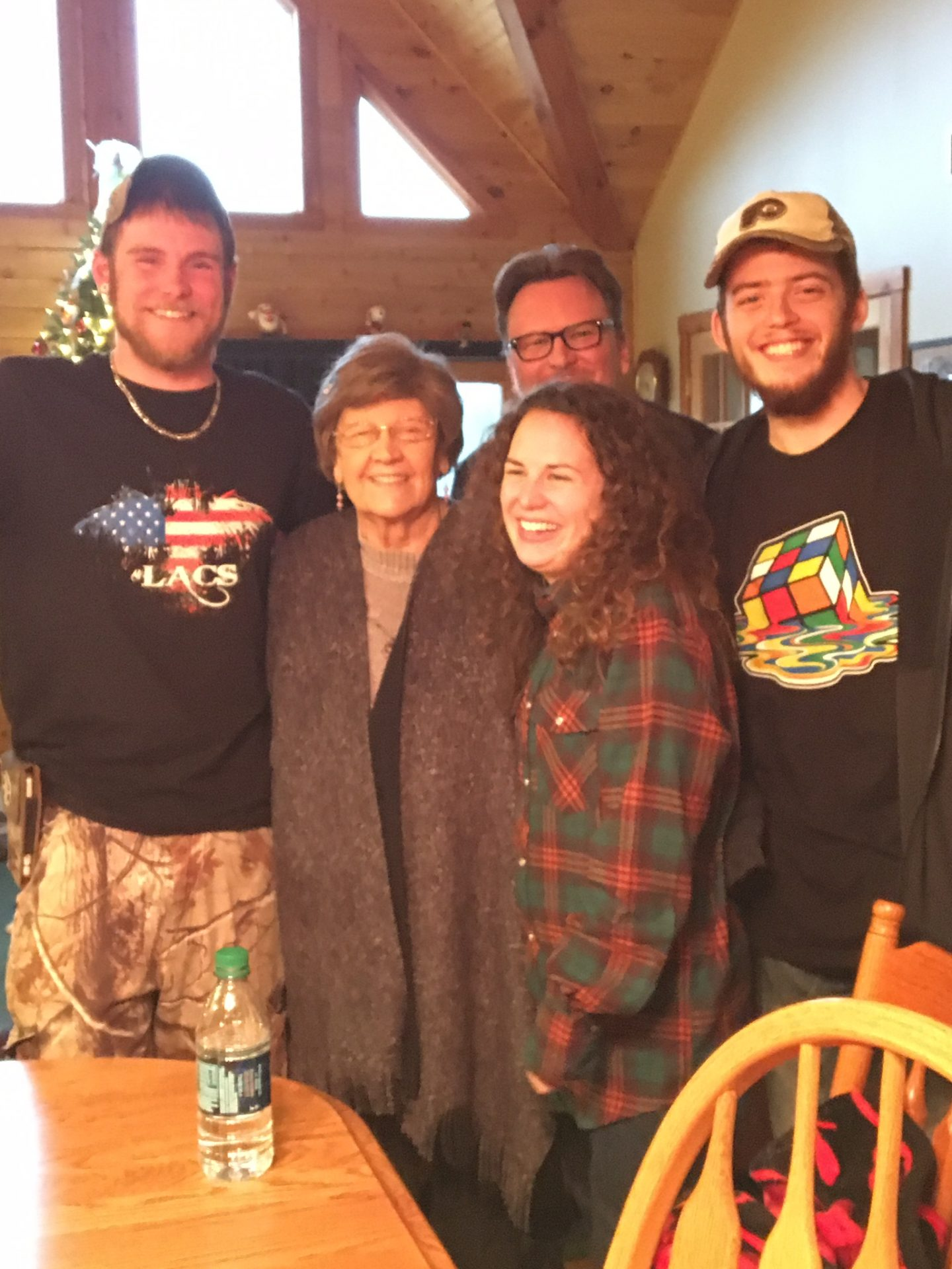 A fun filled Christmas, with Mom Mom Jo
