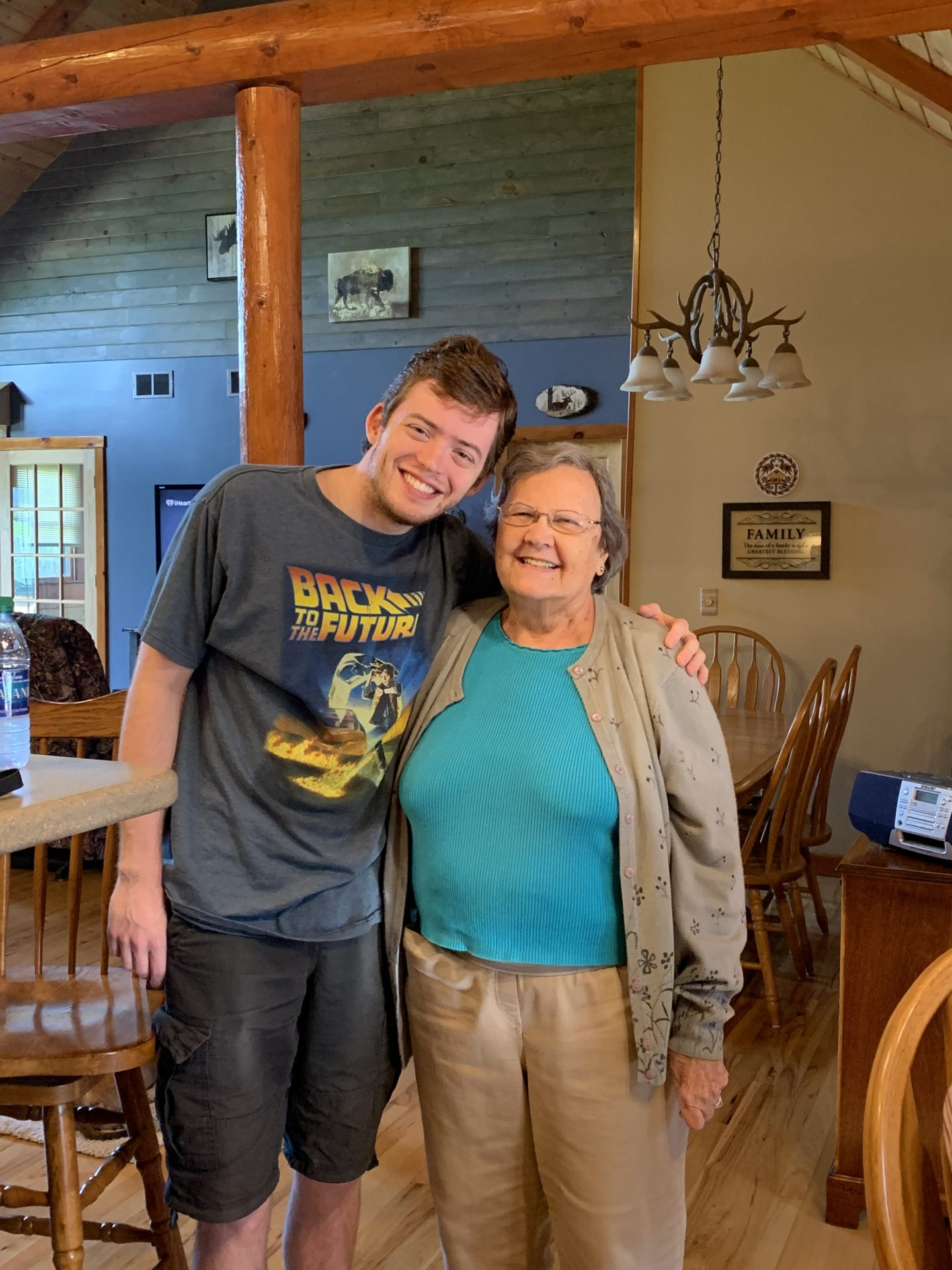 Mom mom Jo and her grandson Kyle