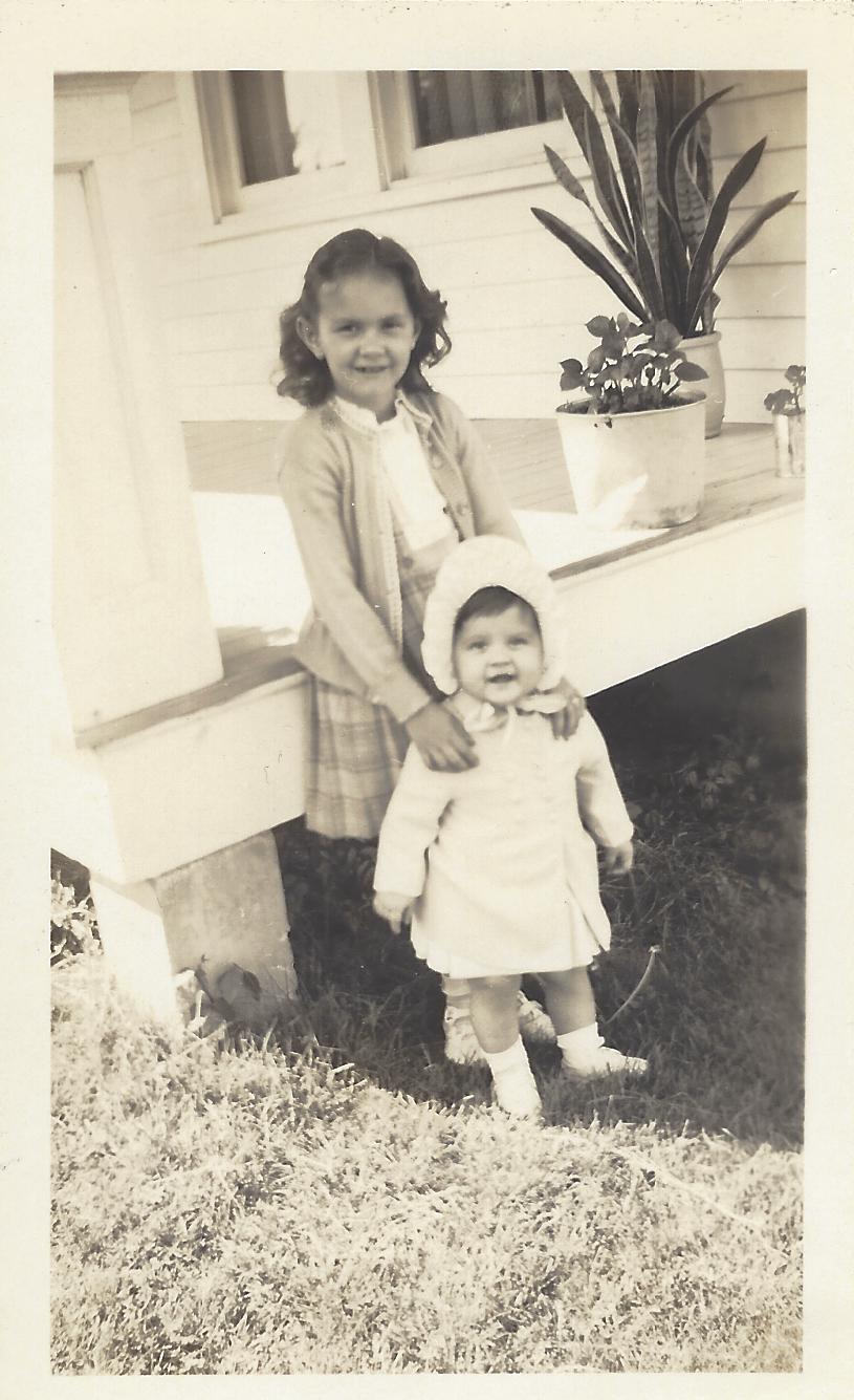 Joann and her sister, Linda