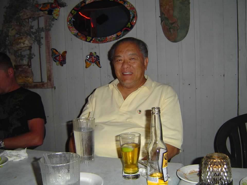 Love & light to my father-in-law, Bert Ong, always so generous and fun-loving. RIP