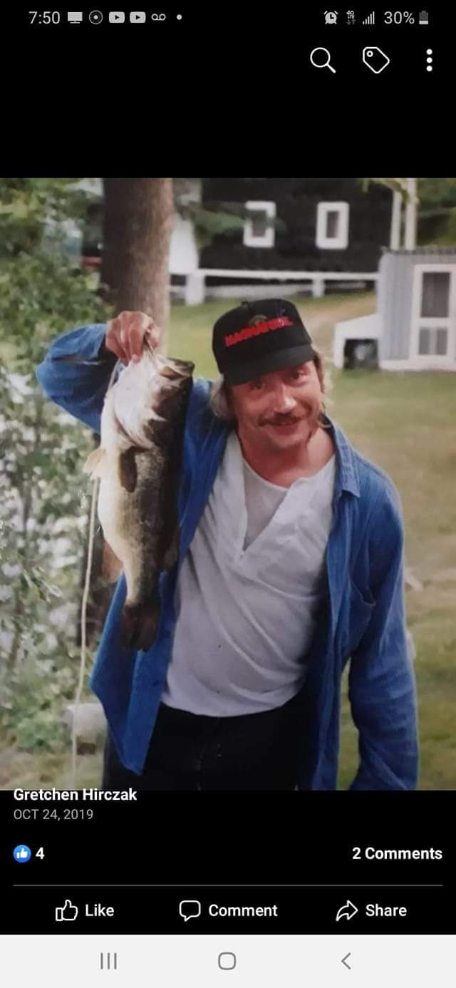 DAD doing what he loved most