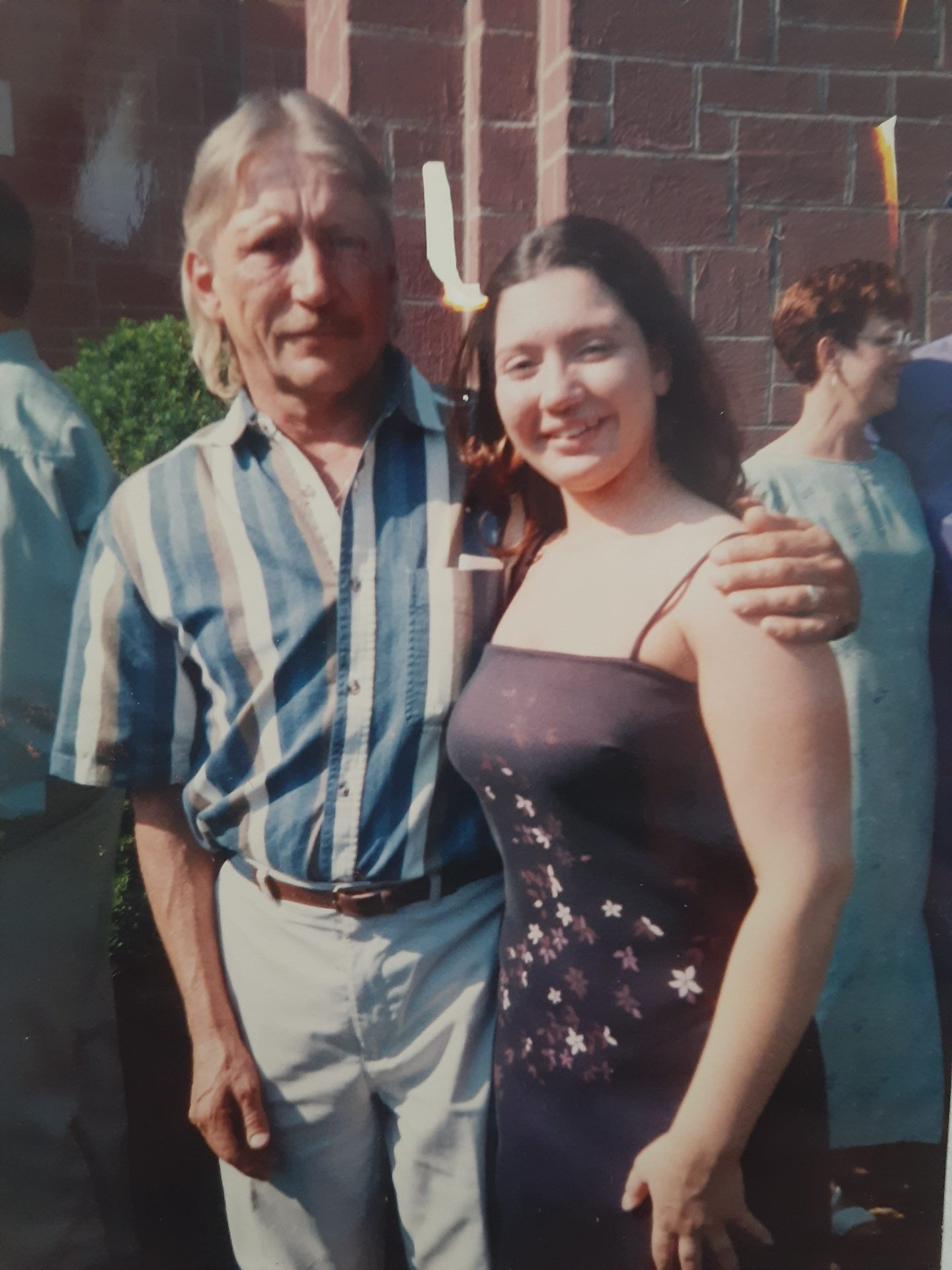 Dad and Jennifer<br />  ❤ Father/daughter❤<br />   Dad loved you soo much Jenn!