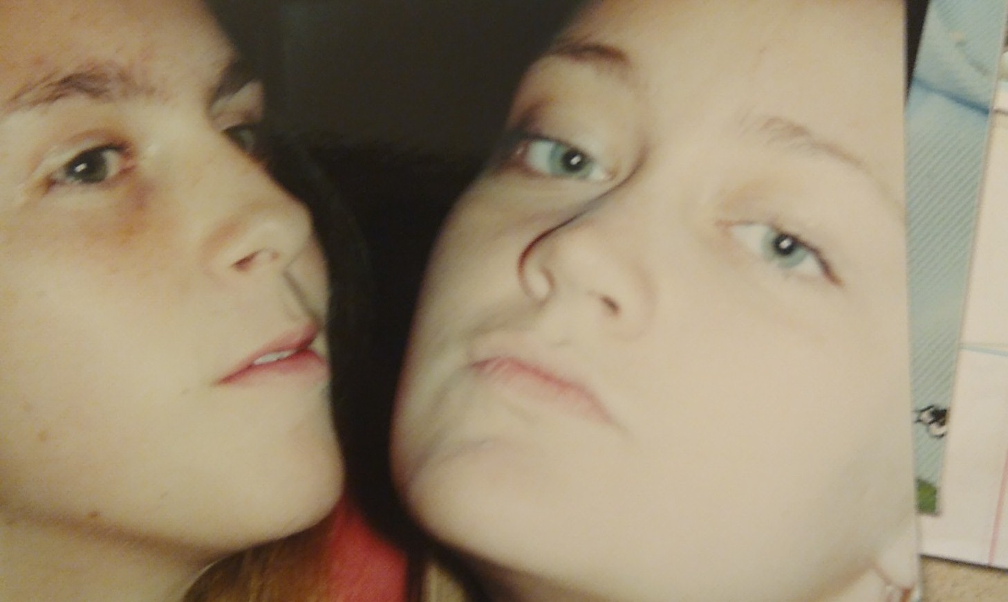 Lauren and my sister, approximately twenty years ago!
