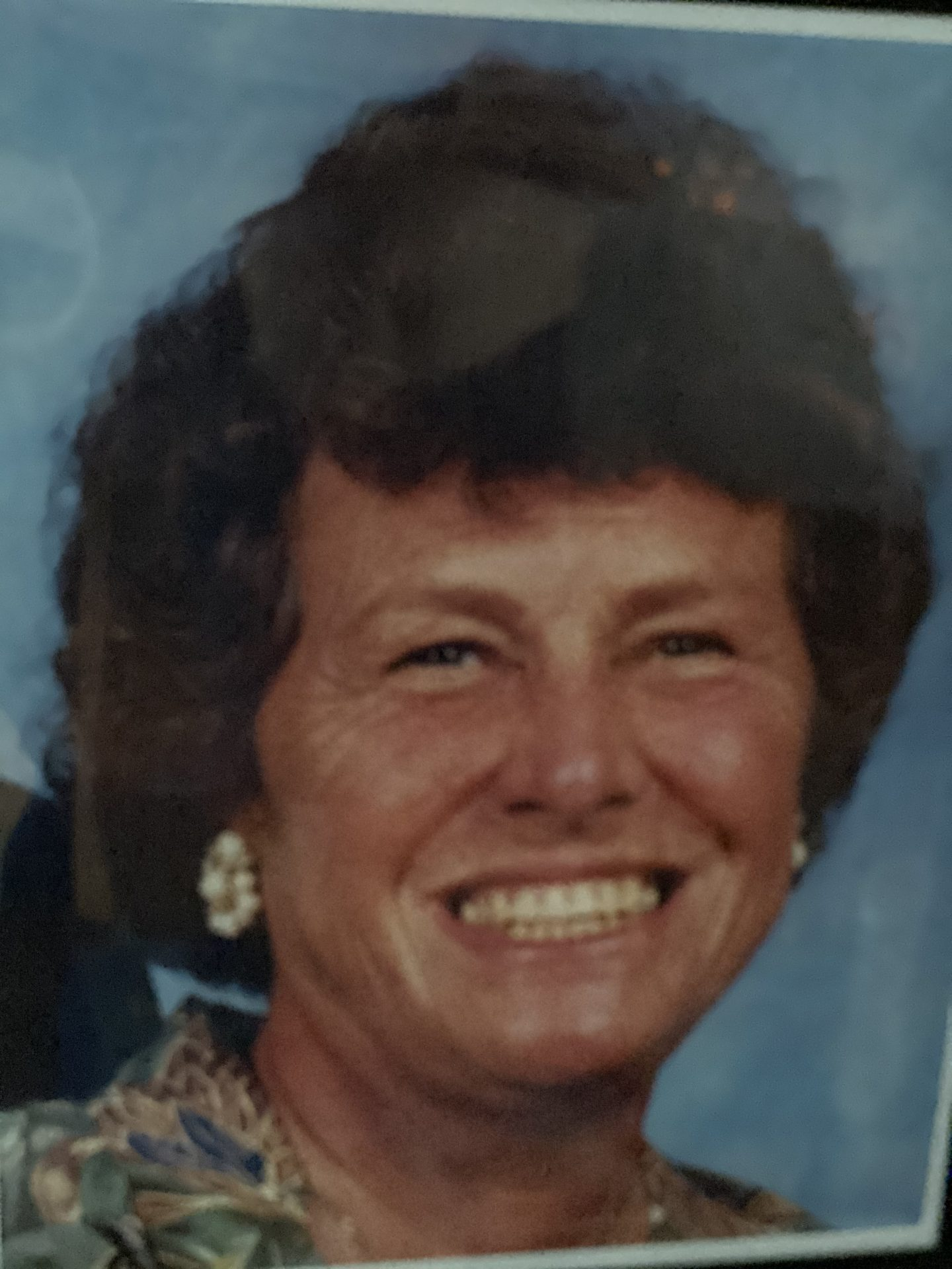 Barbara Vickers- my mom; in 1998.   ❤️