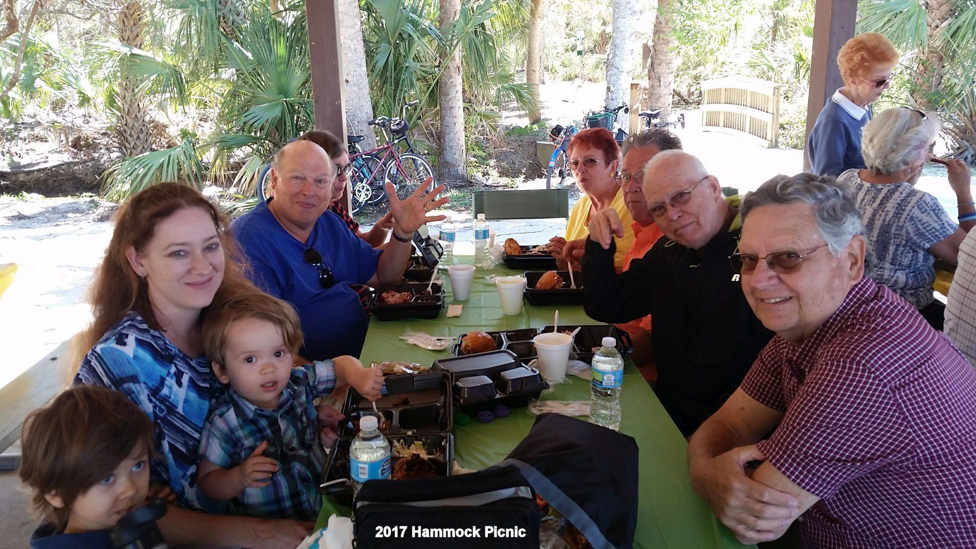 Don and family at 2017 Hammock Community Picnic