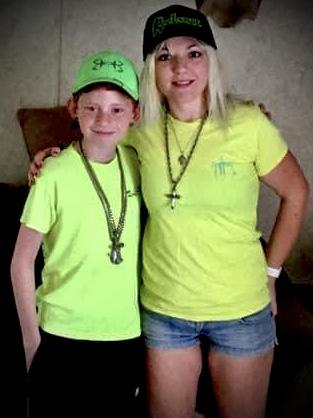 Landon and Mom Ashley