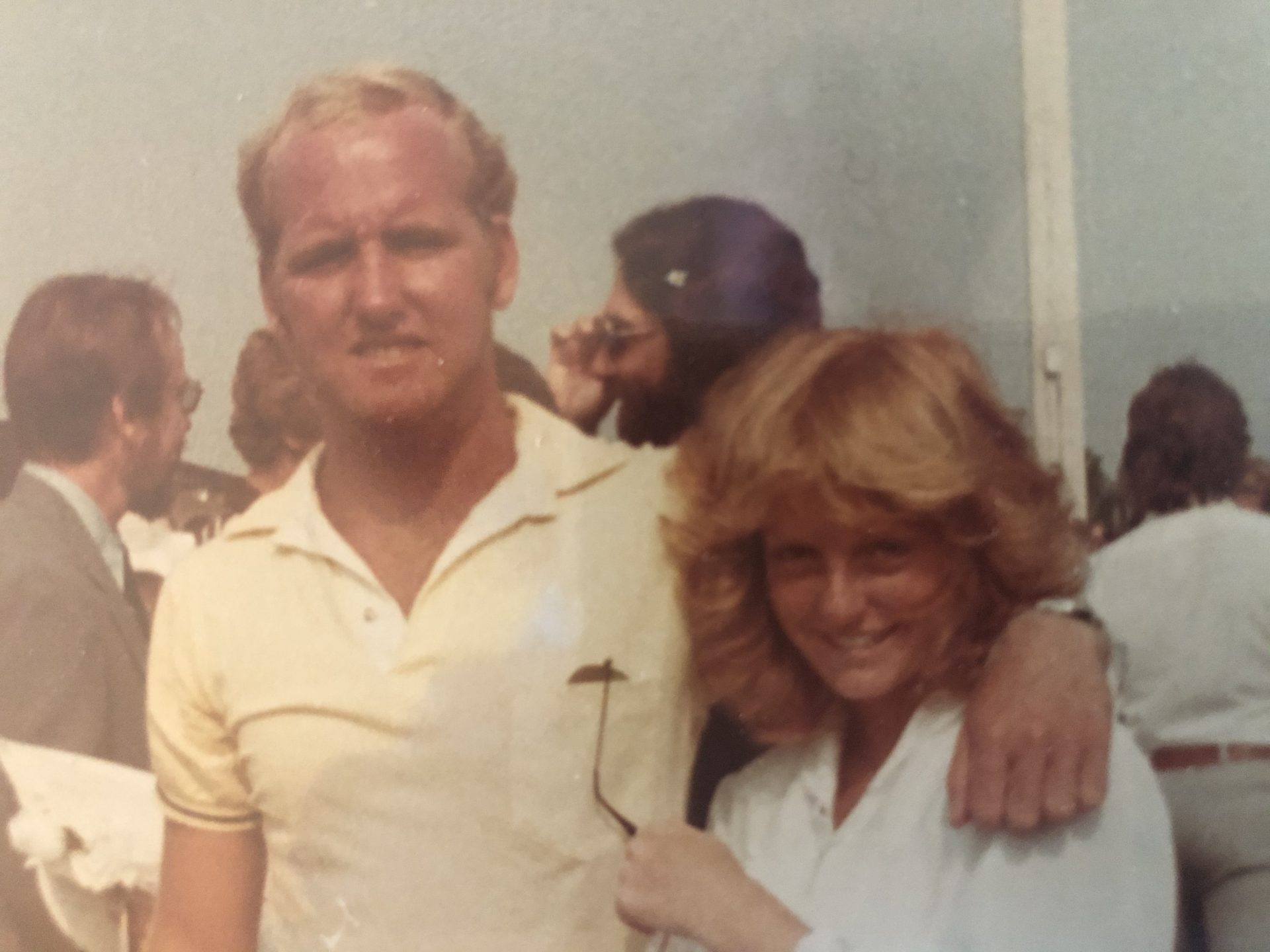 Jimmy at my graduation.  June 1982