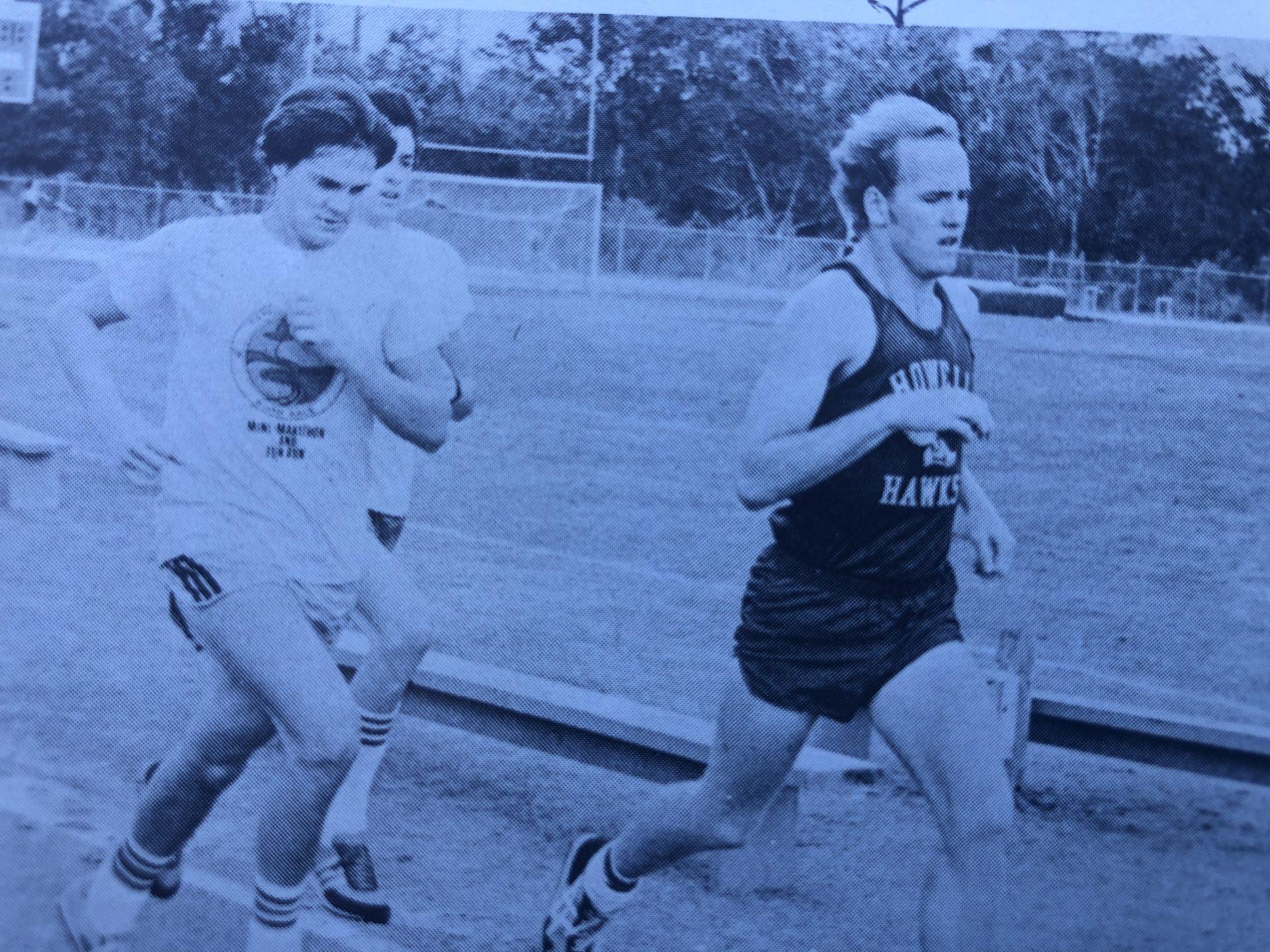 High school Track. 1981