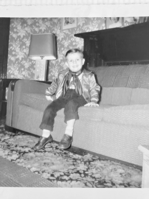 Little Cowboy, Dennis. Loved horses and grew up showing horses with his sister and parents.